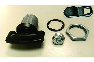 Replacement 1/4 Turn Latch Kit for Vertical Series Hatch